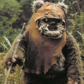 Ewoks is listed (or ranked) 21 on the list List of Star Wars Episode VI: Return Of The Jedi Characters