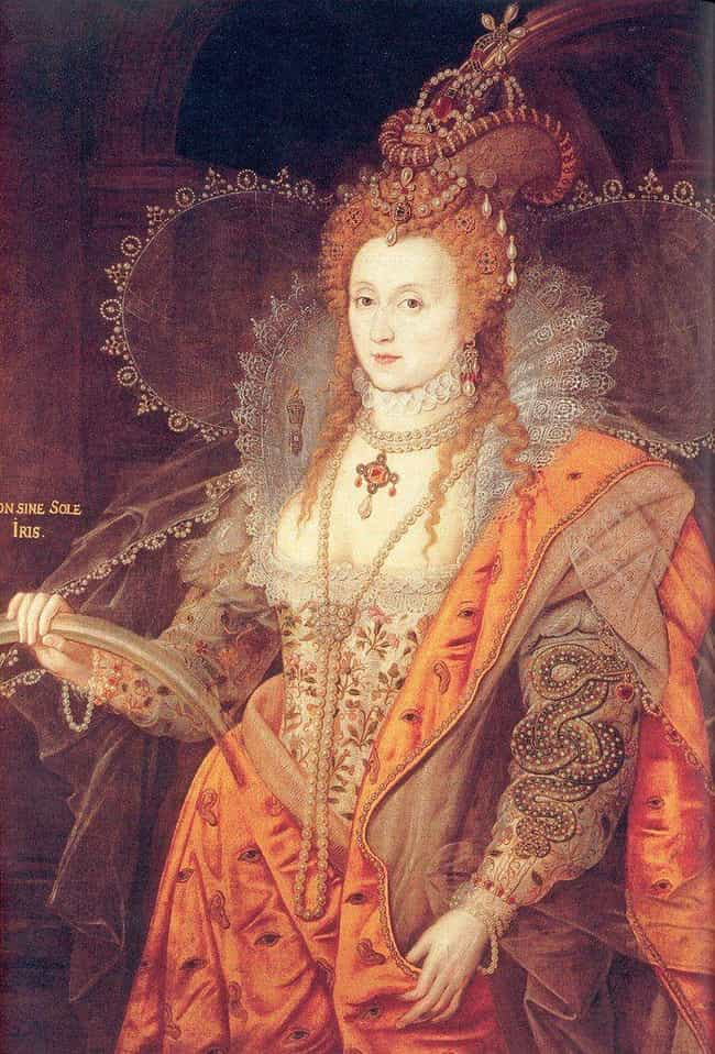 Elizabeth May Have Equat... is listed (or ranked) 4 on the list Queen Elizabeth I's Personal Life Was So Intense It Nearly Split An Entire Continent In Half