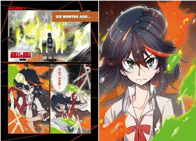 Kill la Kill указан (или занимает) 3 в списке 15 Manga Series на основе аниме, о котором вы не можете знать