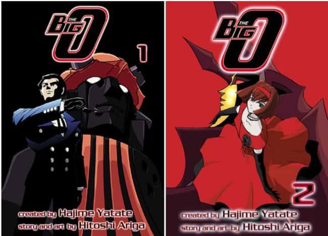 Big O перечислен (или ранжирован) 7 в списке 15 Manga Series на основе аниме, о котором вы не можете знать
