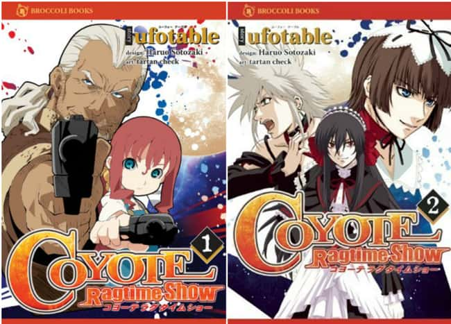 Coyote Ragtime Show внесено в список (или рейтинг) 6 в списке 15 Manga Series на основе аниме, о котором вы не можете знать