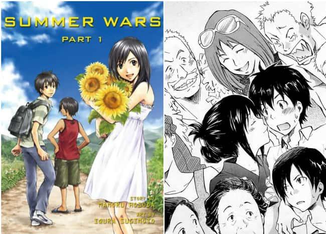 Летние войны перечислены (или ранжированы) 5 в списке 15 Manga Series на основе аниме, о котором вы не можете знать
