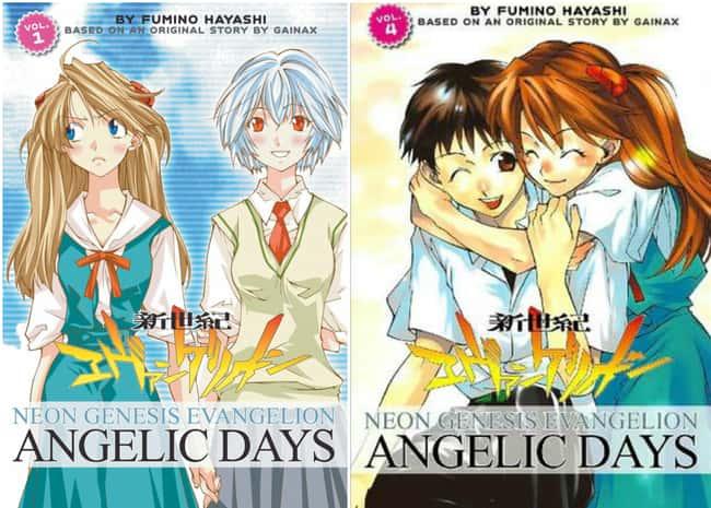 Neon Genesis Evangelion: Ангел указан (или занимает) 15 в списке 15 Manga Series на основе аниме, о котором вы не можете знать