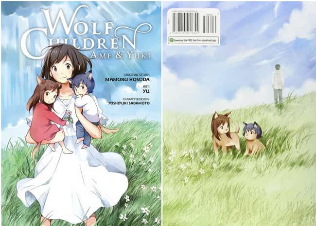 Волк Дети: Ame & Yuki внесен в список (или рейтинг) 13 в списке 15 Manga Series на основе аниме, о котором вы не можете знать