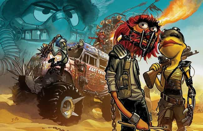 Mad Muppets is listed (or ranked) 1 on the list Artists Imagine What All Your Favorite Pop Culture Characters Would Look Like In Mad Max: Fury Road