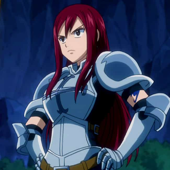 Painful Memories Make Yo... is listed (or ranked) 3 on the list The Best Erza Scarlet Quotes