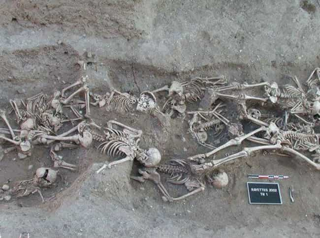 "A Female Vampire Was Found In ... is listed (or ranked) 4 on the list New Evidence Proves That Hundreds Of People In Medieval Europe Were Given Gruesome ""Vampire Burials"""