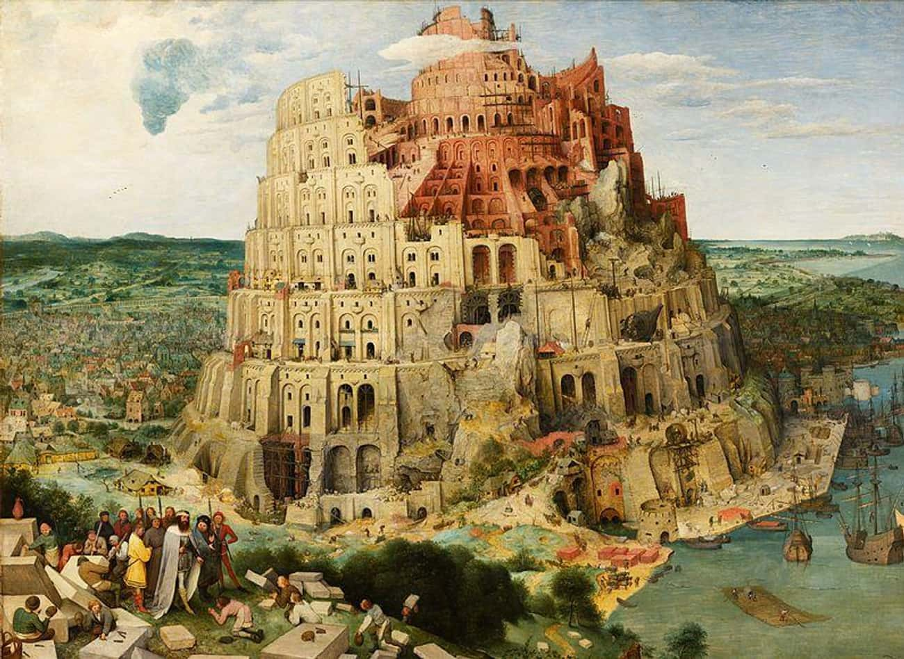 Tower Of Babel is listed (or ranked) 2 on the list Here's Every Event And Individual In The Bible We Have Physical Evidence Of