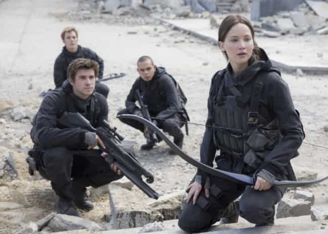 Katniss Murders A Stranger In ... is listed (or ranked) 1 on the list Dark Scenes That Were Left Out Of The Hunger Games Movies