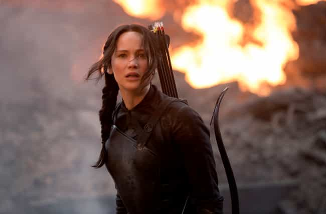 Katniss Is Almost Burned To De... is listed (or ranked) 4 on the list Dark Scenes That Were Left Out Of The Hunger Games Movies