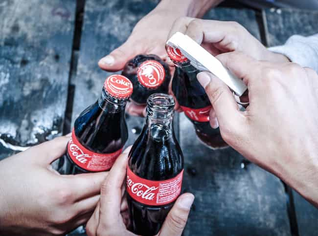 Kosher Coke Exists For Passove... is listed (or ranked) 2 on the list 11 Surprising Facts About Soda That'll Make You Think Differently About It