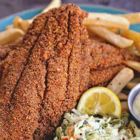 Mississippi – Fried Catfish is listed (or ranked) 16 on the list The Most Popular Food In Each State, According To People Who Actually Live There