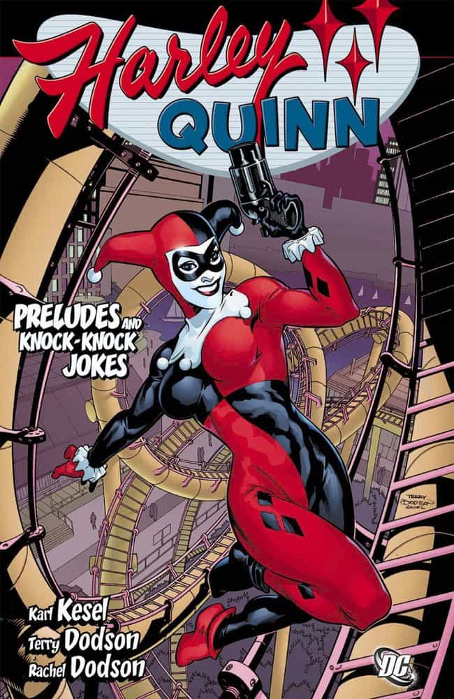 A Harley Quinn Romance ... is listed (or ranked) 3 on the list The Best Harley Quinn Storylines in Comics