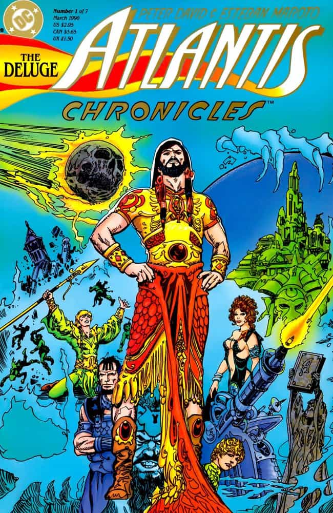 The Atlantis Chronicles ... is listed (or ranked) 4 on the list The Best Aquaman Storylines In Comics
