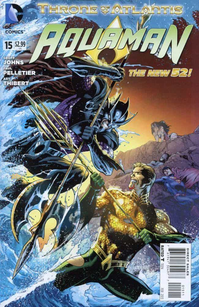 Throne Of Atlantis is listed (or ranked) 2 on the list The Best Aquaman Storylines In Comics