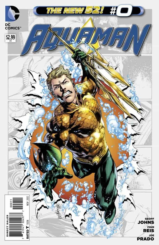 Underwater is listed (or ranked) 3 on the list The Best Aquaman Storylines In Comics