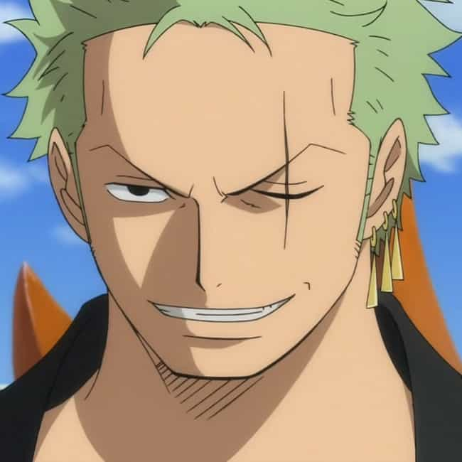 Acceptance is listed (or ranked) 1 on the list The Best Roronoa Zoro Quotes