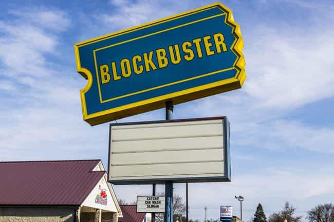 Late Fees Brought In Loads Of... is listed (or ranked) 4 on the list 13 Facts You Never Knew About Blockbuster
