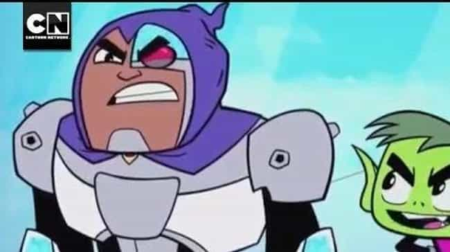 Forget Raven, Cyborg Is The Da... is listed (or ranked) 4 on the list Teen Titans Go! Fan Theories