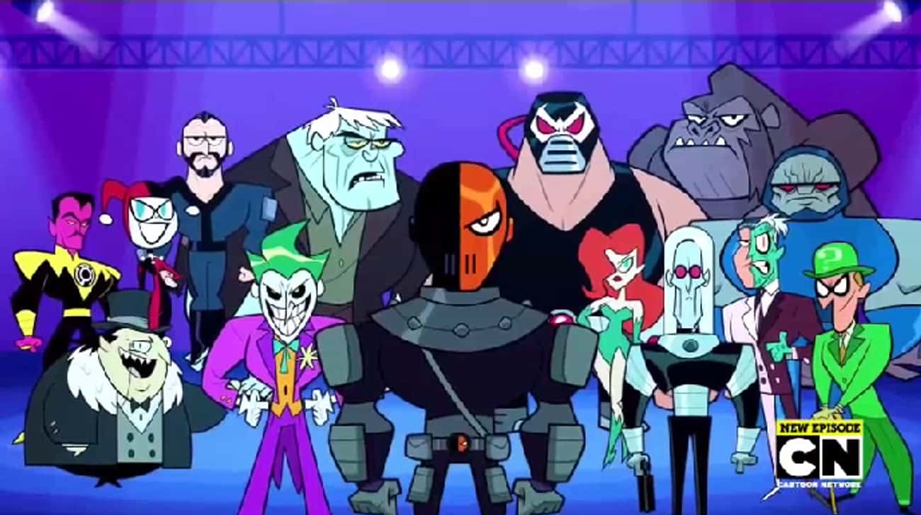 Slade Wilson Will Become A Fun is listed (or ranked) 2 on the list Teen Titans Go! Fan Theories