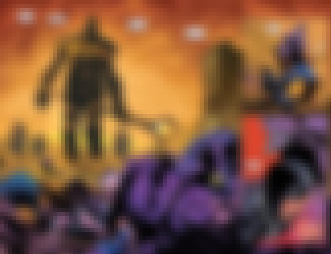 Thanos Uses Blackbolt's Voice ... is listed (or ranked) 4 on the list There's Already A Future Of The Marvel Universe Where Thanos Has Won (And It Is Awesome!)
