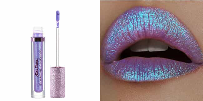 Diamond Crushers Iridescent Li... is listed (or ranked) 1 on the list The Best Holographic Lip Glosses