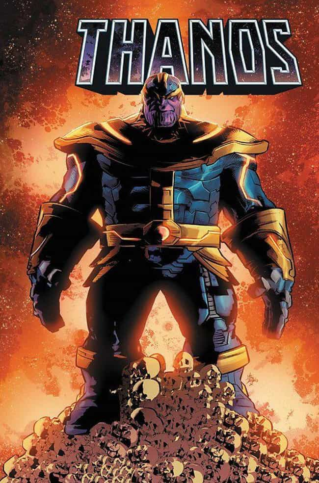 Thanos Punches Through H... is listed (or ranked) 5 on the list The Most Disturbing Thanos Moments In Marvel Comics