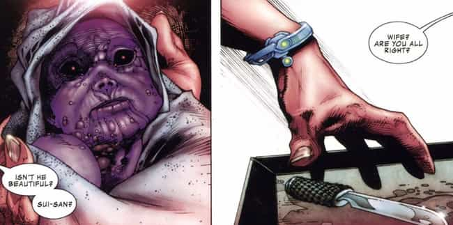 Thanos's Mother Tried To Kill Him As An Infant
