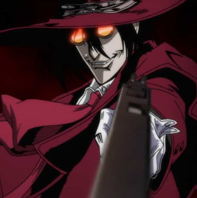 Too Weak is listed (or ranked) 1 on the list The Best Hellsing Anime Quotes
