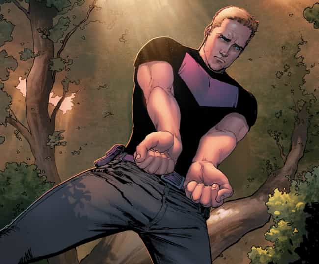 Hawkeye Is Brought To Tr... is listed (or ranked) 3 on the list Wait, So The Hulk Was Killed By Hawkeye And Resurrected As An Immortal Night-Creature?