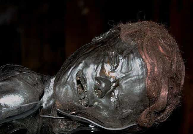 The Grauballe Man's Throat... is listed (or ranked) 2 on the list The Astonishingly Violent Backstories Of 12 Bog Bodies Preserved For Centuries