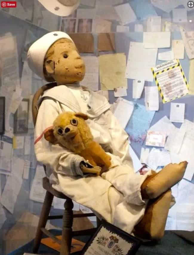 Robert the Doll is listed (or ranked) 1 on the list Terrifying Cursed Objects That Actually Exist
