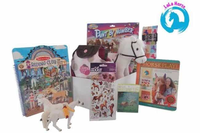 LaLaHorse is listed (or ranked) 3 on the list The Best Subscription Boxes for Kids
