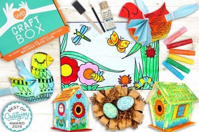 We Craft Box is listed (or ranked) 1 on the list The Best Subscription Boxes for Kids