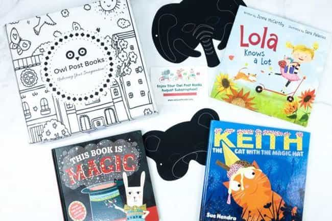 Owl Post Books is listed (or ranked) 4 on the list The Best Subscription Boxes for Kids