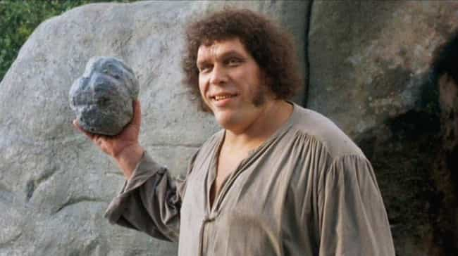 Andre The Giant Was Self-Medic... is listed (or ranked) 2 on the list No Matter How Many Times You've Watched 'The Princess Bride,' You Don't Know Everything About It