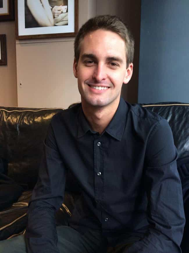 His Net Worth Dropped Almost $... is listed (or ranked) 1 on the list Things You Didn't Know About Snapchat Founder Evan Spiegel