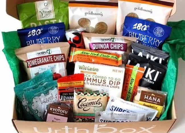 Urthbox is listed (or ranked) 4 on the list The Best Subscription Boxes for Vegans