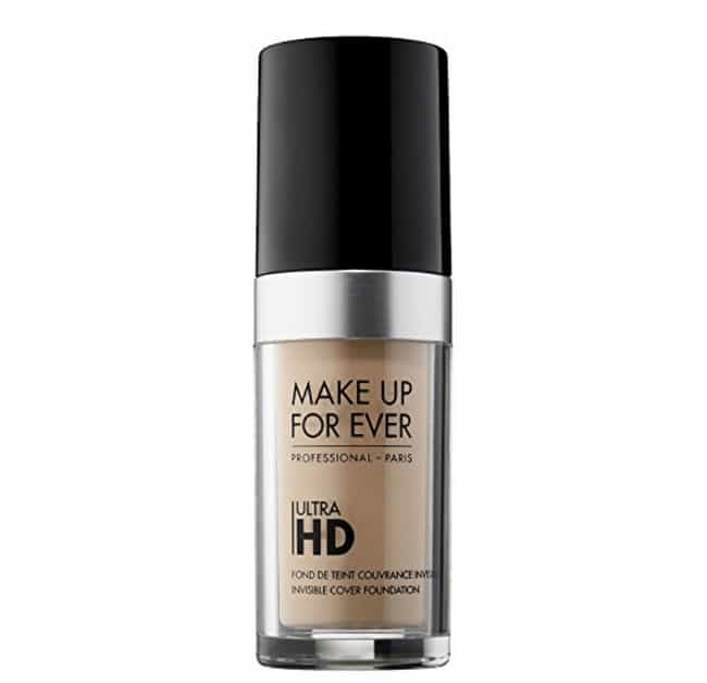 Ultra HD Invisible Cover Found... is listed (or ranked) 3 on the list Professional Makeup Artists Swear These Are The Best Foundations For Your Wedding Day