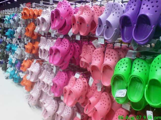 The Company Found Immediate Su... is listed (or ranked) 4 on the list Crocs Were Once The Most Hated Shoe In America, Now People Are Saying They're Cool