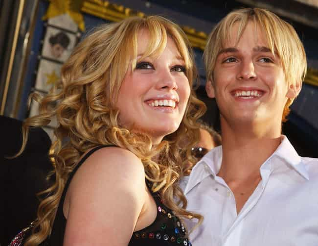 Aaron Carter's Insistence ... is listed (or ranked) 1 on the list Whatever Happened To Hilary Duff?