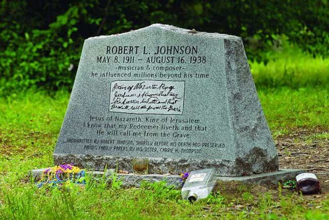 Some Say Poisoned Whiskey And ... is listed (or ranked) 2 on the list Robert Johnson Is An Early Member Of The 27 Club, And His Death May Be Due To A Deal With The Devil
