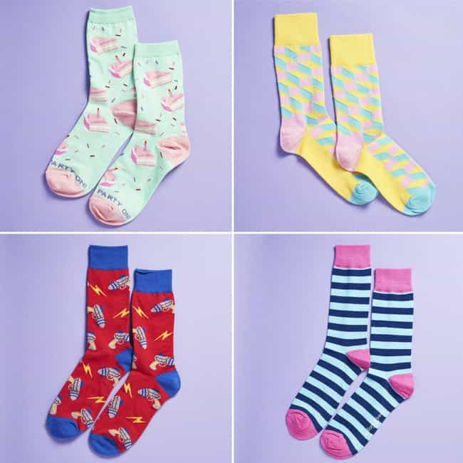 Say It With a Sock is listed (or ranked) 3 on the list The Best Subscription Boxes for Socks