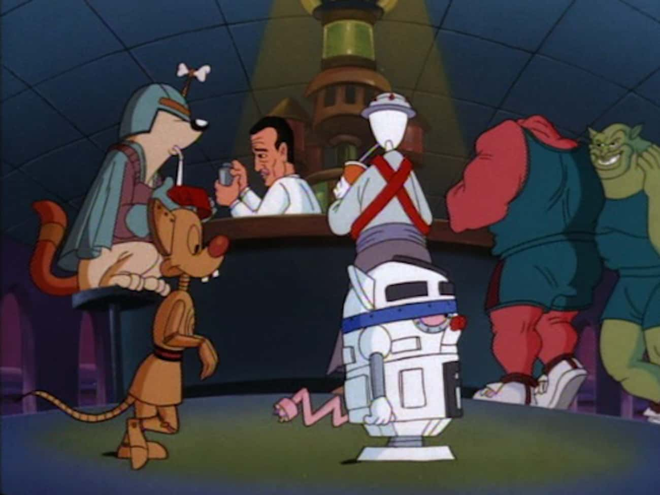 The Monstars On 'Pinky And The Brain'