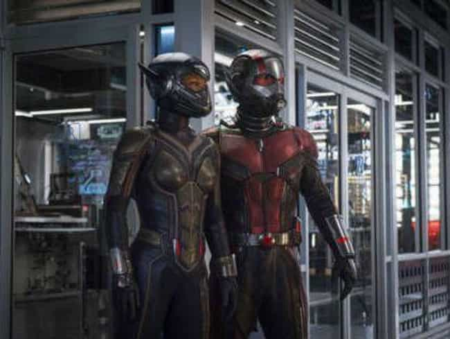 Ant-Man And The Wasp Will Secr... is listed (or ranked) 3 on the list Fan Theories About Where Hawkeye And Ant-Man Are During 'Infinity War'