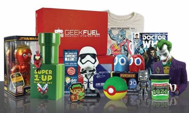Geek Fuel is listed (or ranked) 2 on the list The Best Subscription Boxes For Geeks