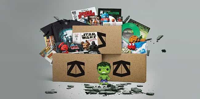 Zbox is listed (or ranked) 4 on the list The Best Subscription Boxes For Geeks