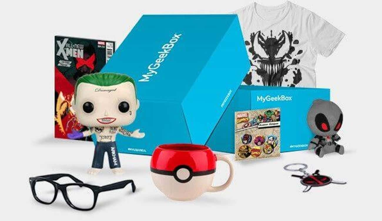 My Geek Box is listed (or ranked) 4 on the list The Best Subscription Boxes For Geeks