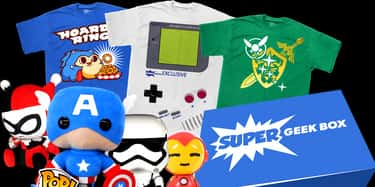 Super Geek Box is listed (or ranked) 5 on the list The Best Subscription Boxes For Geeks