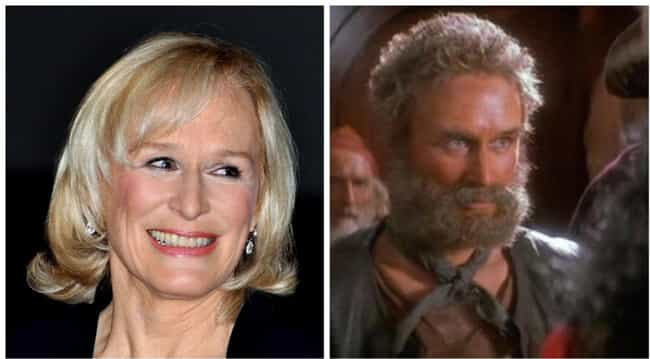 Glenn Close Played A Random (M... is listed (or ranked) 2 on the list The Surprising Hidden Actors Behind CGI And Costumed Characters